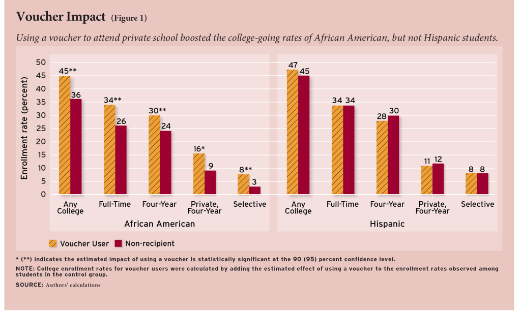 the impact of school vouchers on american public education